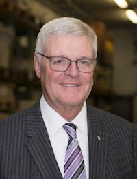 Portraitfoto: Michael H.G. Hoffmann, Präsident des Zentral-Dombau-Vereins
